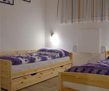 Apartmán Laura - pokoj (oddělené postele + přistýlka)