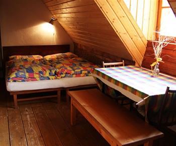 Mezonetová ložnice v podkroví