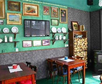 Restaurace v areálu chatové osady