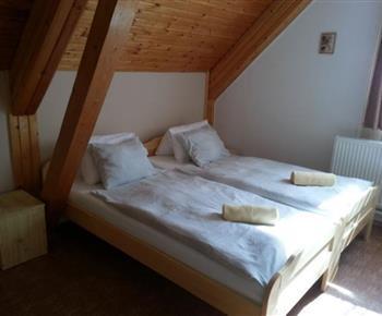 Ložnice apartmánu 2+kk