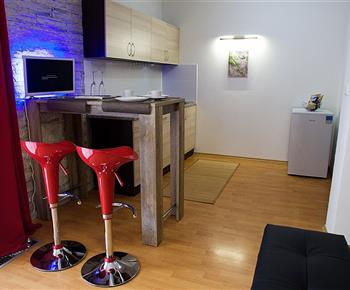 bar s kuchynským koutem