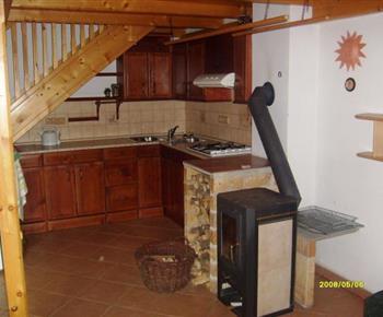 Kuchyně s kamny