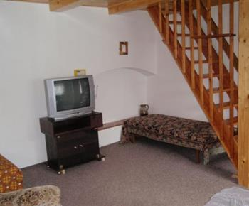 Apartmán A - společenská místnost
