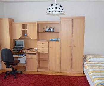 Obývací stěna v pokoji