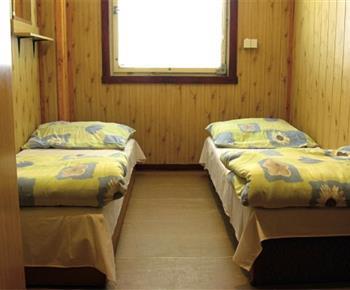 Pohled do pokoje v ubytovně
