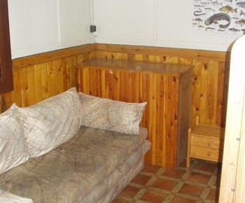 Ložnice s rozkládací sedačkou
