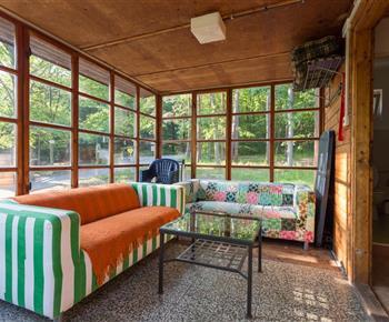 Apartmán A - veranda