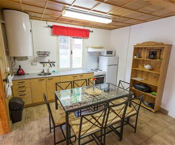 Apartmán A - kuchyň s jídlenou