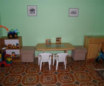 Dětský koutek v  hale