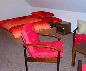 Apartmán s lůžky a posezením