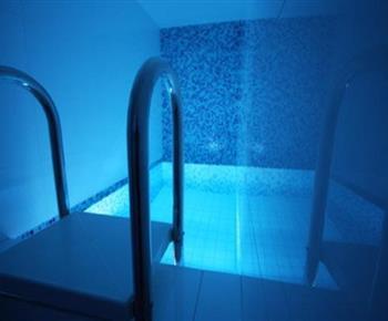 Bazének u sauny