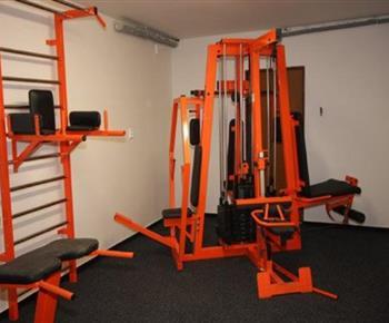 Fitness v objektu