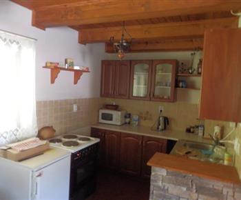 Plně vybavená kuchyňka v apartmánu A