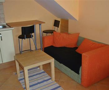 Apartmán A - posezení