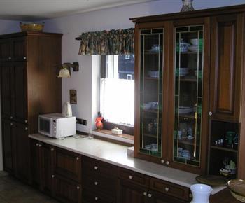 Plně vybavená kuchyňská linka v prvním patře