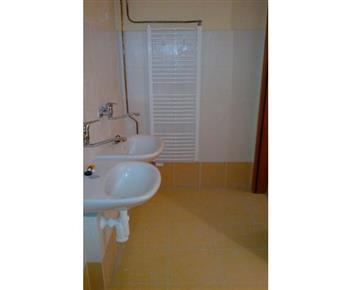 Sociální zařízení se sprchovým koutem v apartmánu č. 2
