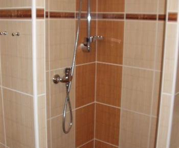 Pohled na sprchový kout