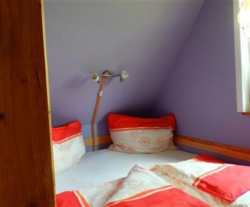 Chata A - malá ložnice