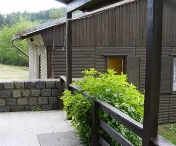 Pohled z 6 l. přízemní chatky