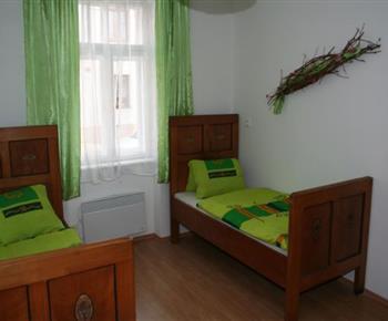 Šestilůžkový apartmán - dvoulůžková ložnice