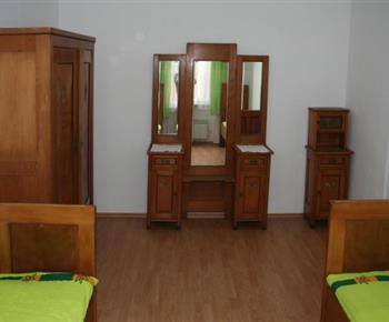 Šestilůžkový apartmán - ložnice s oddělenými lůžky