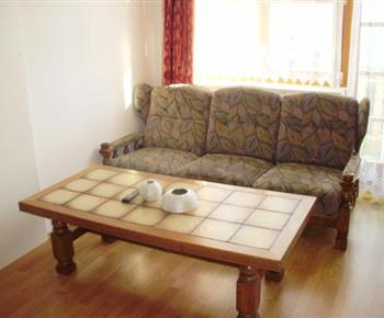 Apartmán B - obývací pokoj