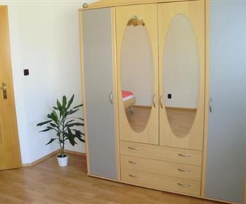 Apartmán B - vybavení ložnice