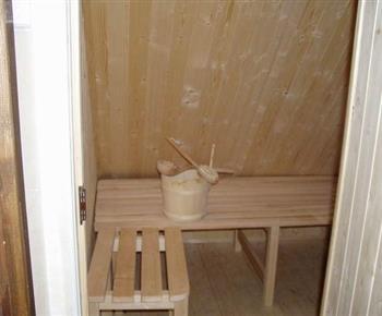 Sauna na chalupě