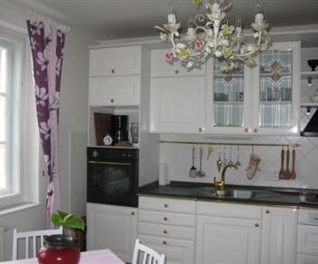 Apartmán A - plně vybavená kuchyně