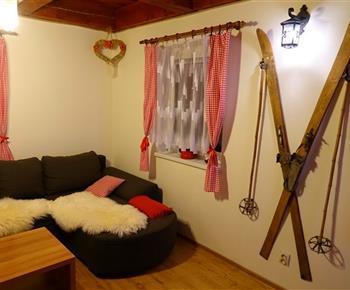 Interiér apartmánu A