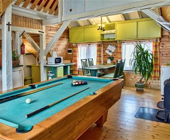 apatmán stodola 2 spol.miestnosť a kuchyňa-pre 4 osoby