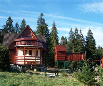 Chata v létě
