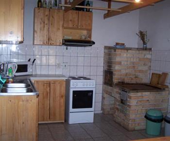 Celkový pohled do kuchyně