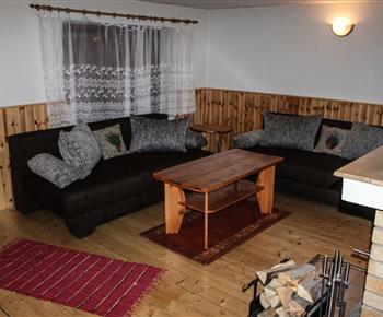 Společenská místnost.