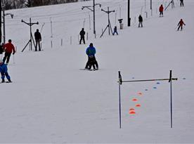 Ski areál Mrákotín 2015 zasněžen a v provozu 01/2015