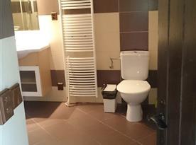 Nová koupelna v přízemí
