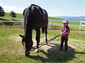 Děti a koně