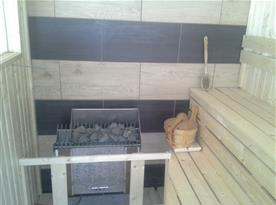 Naše nová sauna