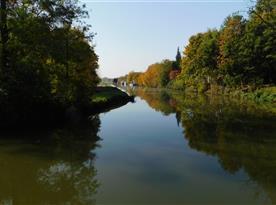 Baťův kanál, Veselí nad Moravou