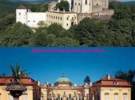 Hrad Buchlov a zámek v Buchlovicích