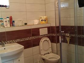 podkrovní apartmán - koupelna