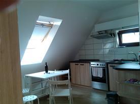 Podkrovní apartmán  - kuchyně