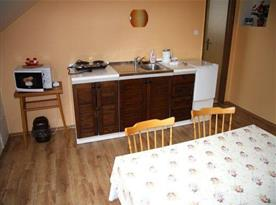 Kuchyňka v podkroví