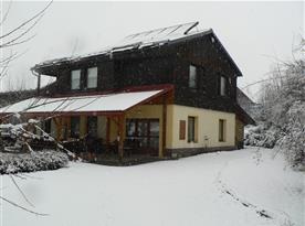 Chata Pod Hájkem Horní Branná - zima
