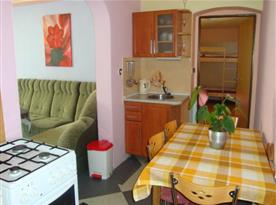 Apartmán B - kuchyňka