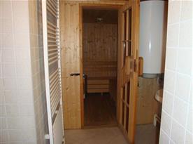 Apartmán C - sauna