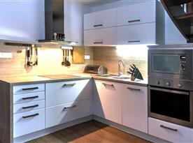 Moderní kuchyňský kout