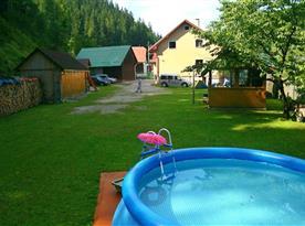 Venkovní bazének